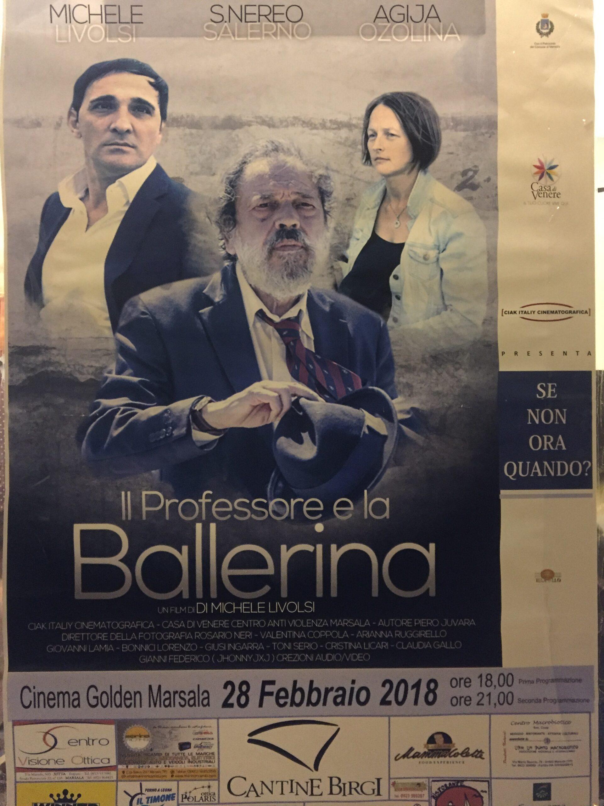 Salina Calcara di Trapani e Paceco - Cortometraggio 2018 - Il professore e la ballerina