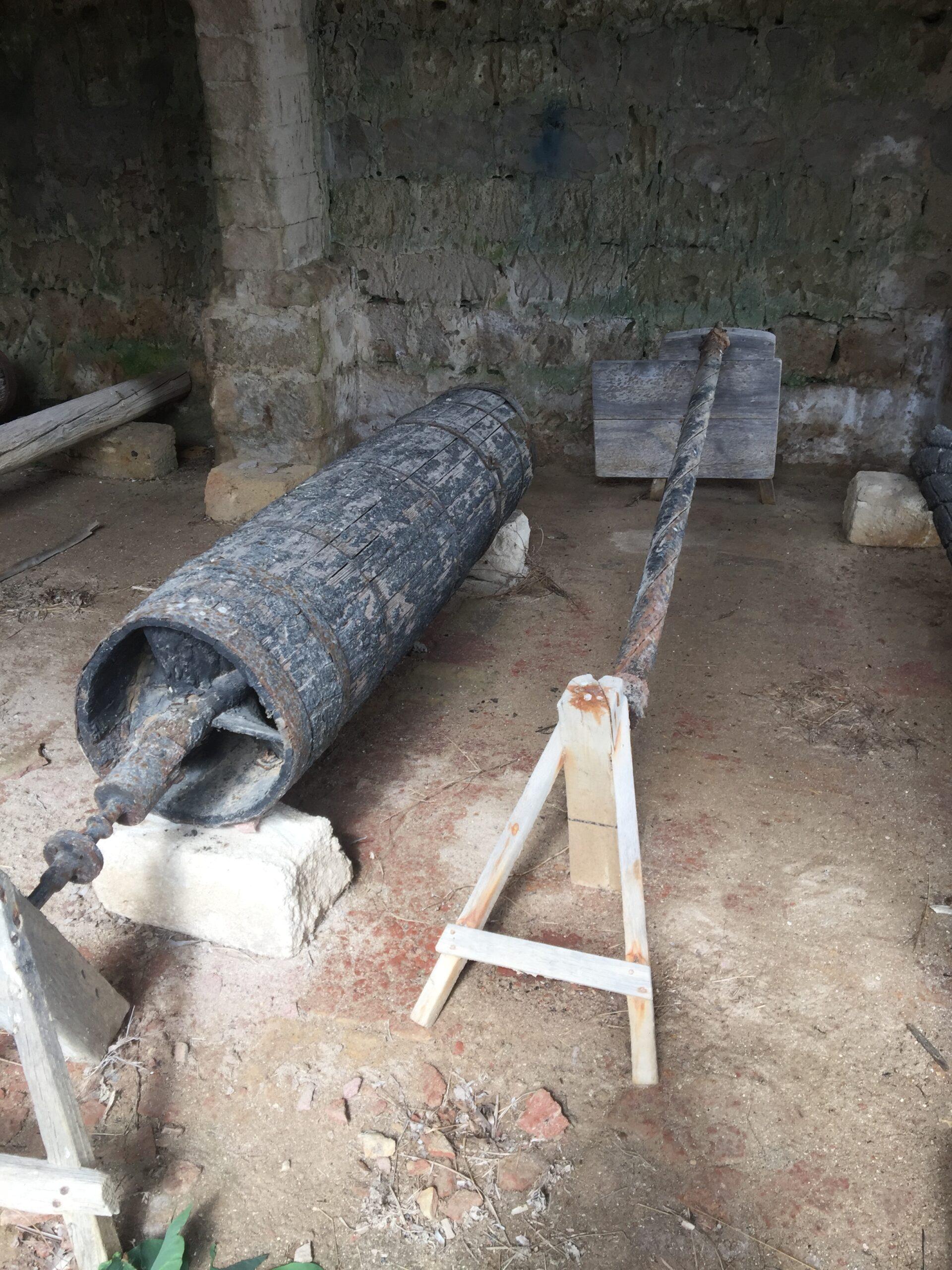 Salina Calcara di Trapani - Museo attrezzi di salicoltura