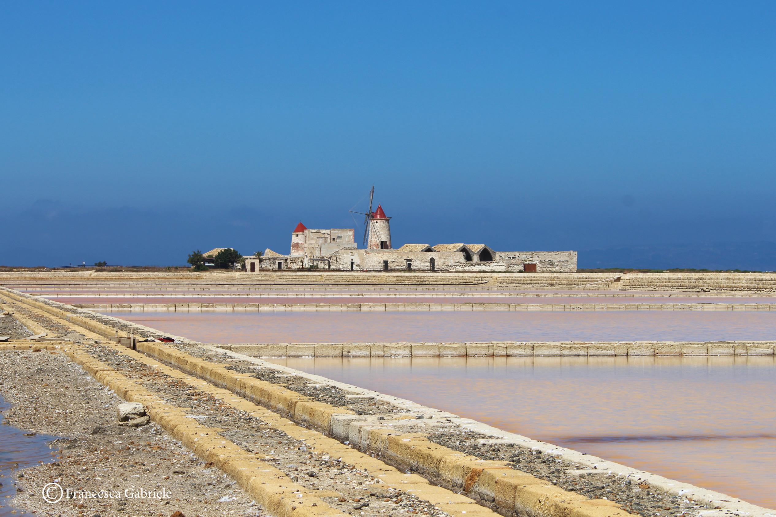 Salina Calcara di Trapani e Paceco - Foto panoramica